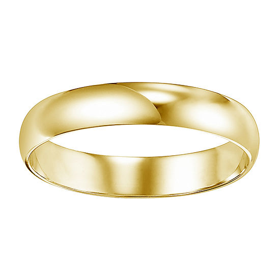 4 Mm 14K Gold Wedding Band