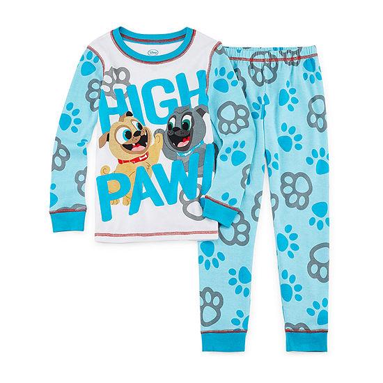 Disney Puppy Dog Pals Pajama Set Boys