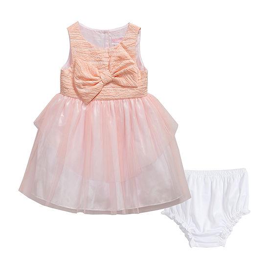 Youngland Baby Girls Sleeveless A-Line Dress