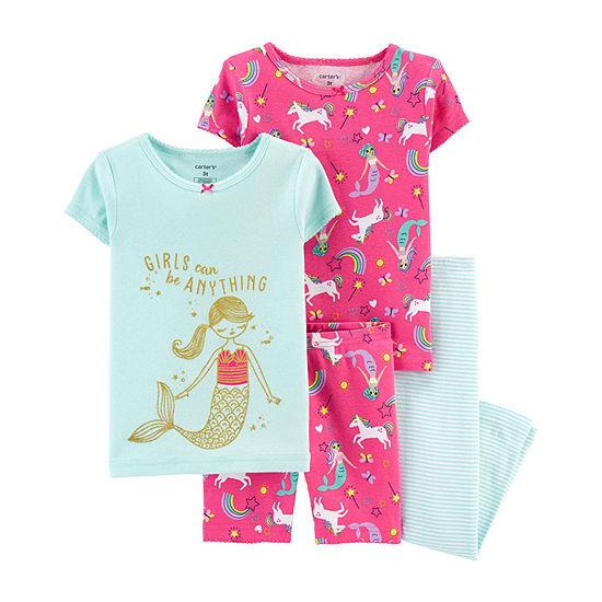 Carter's Baby Girls Pajama Set
