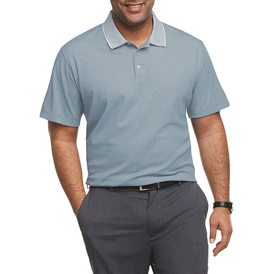 Van Heusen Men's Air Short Sleeve Polo Shirt -  Big and Tall