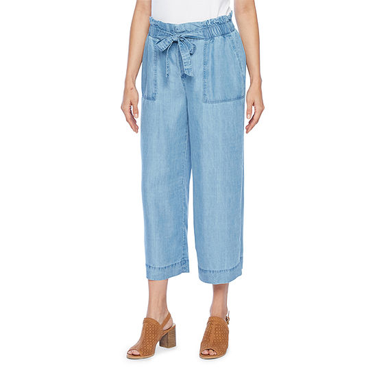 a.n.a Mid Rise Petite Cropped Pants