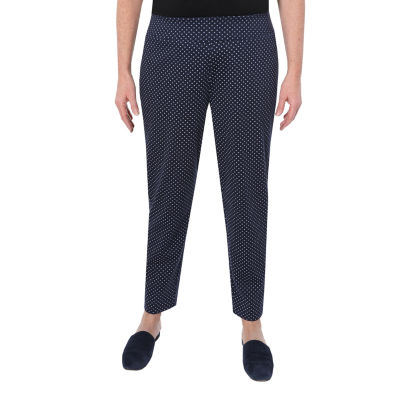 Cathy Daniels Marina Del Rey Womens Mid Rise Straight Pull-On Pants
