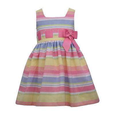 Bonnie Jean Toddler Girls Sleeveless Midi Party Dress