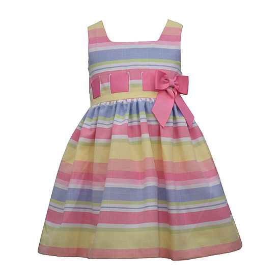 Bonnie Jean - Toddler Girls Sleeveless Party Dress