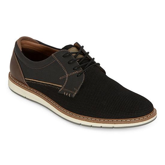 JF J.Ferrar Mens Cinder Oxford Shoes