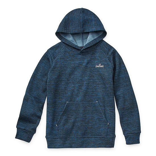 Spalding Boys Cuffed Sleeve Hoodie-Big Kid