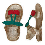 Carter's Toddler Girls Iris3 Flat Sandal