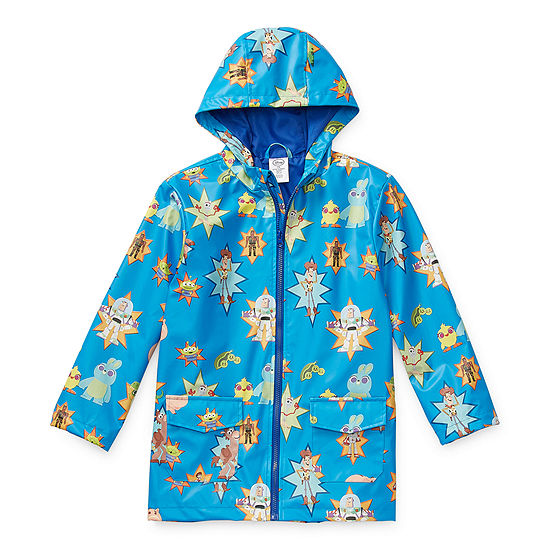 Disney Collection Little & Big Boys Toy Story Lightweight Raincoat