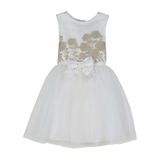 Lilt Girls Sleeveless Party Dress - Toddler