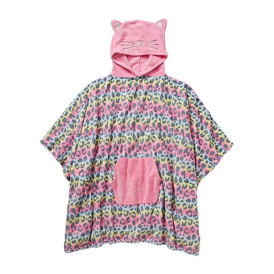 Capelli of N.Y. Novelty Little & Big Girls Microfiber Sleeveless Mid Length Robe