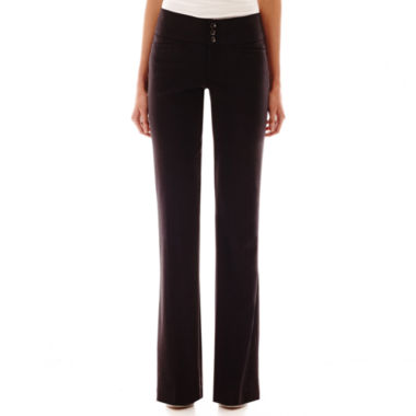 Hollywould Perfect-Fit Waistband Three-Button Pants
