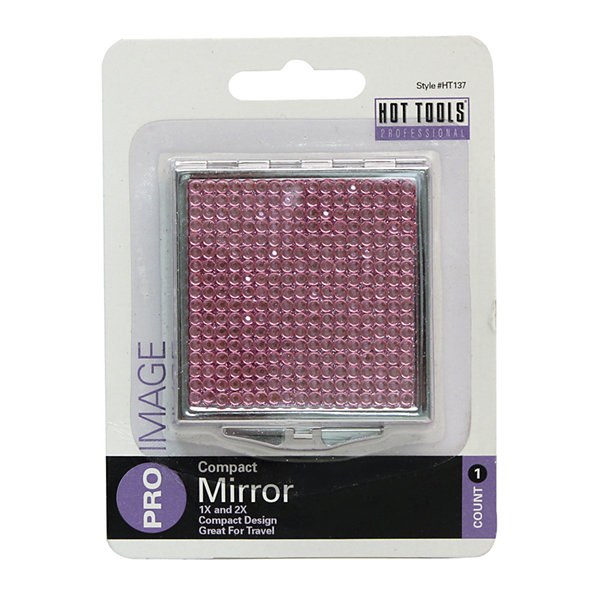Hot Tools® Square Rhinestone Compact