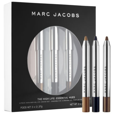 Marc Jacobs Beauty The High Life: Coveted Colors 3-Piece Petites Highliner Gel Eye Crayon Set