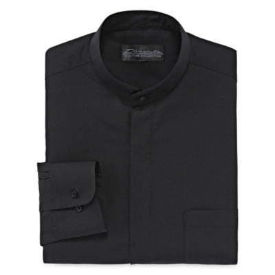 D'Amante Banded-Collar Dress Shirt - Big & Tall