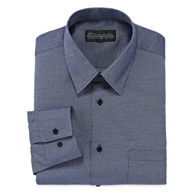 D'Amante Chambray Dress Shirt - Big & Tall