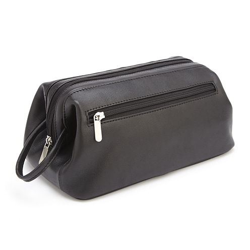 Royce® 100% Leather Toiletry Bag