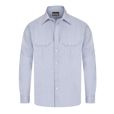 Bulwark® Deluxe Excel Flame-Resistant Striped Shirt