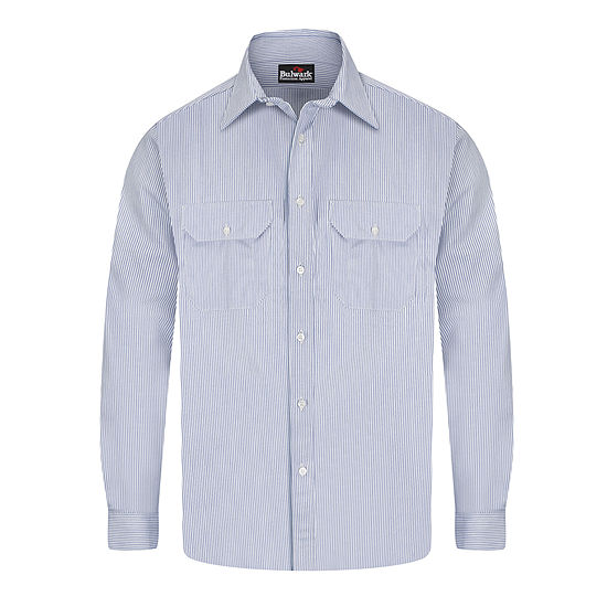 Bulwark Deluxe Excel Flame Resistant Striped Shirt