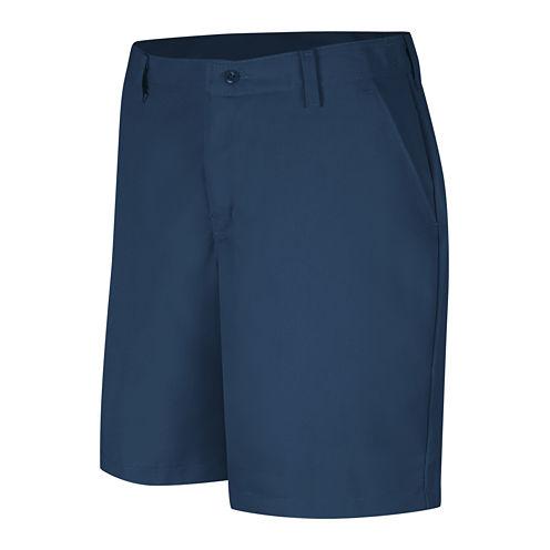 Red Kap® Womens Industrial Plain-Front Shorts - Plus
