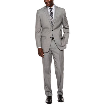 Collection by Michael Strahan Black White Birdseye Suit Separates - Classic Fit