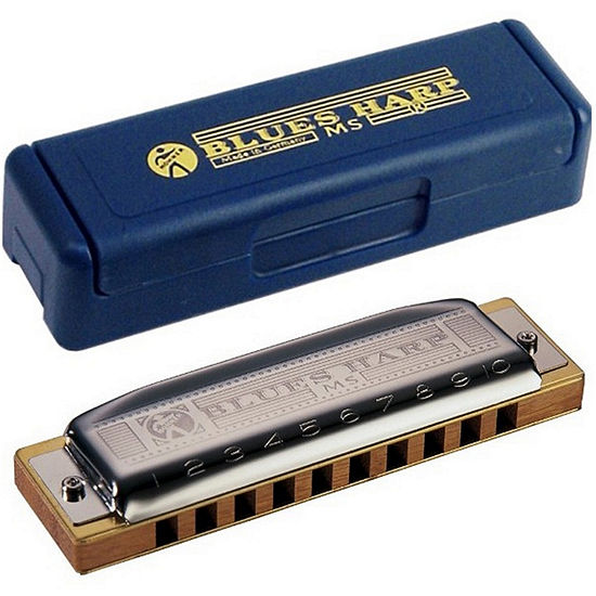 Hohner Blues Harp Ms Modular System Diatonic Harmonica In C Major