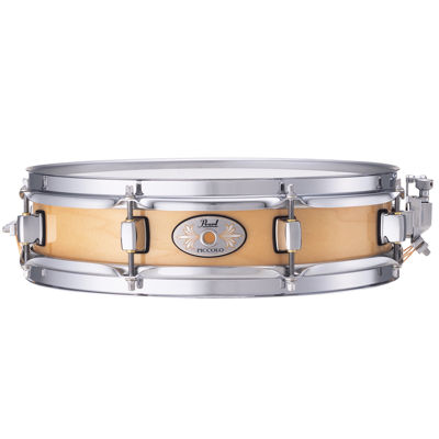 Pearl Natural Finish Maple Piccolo Snare Drum