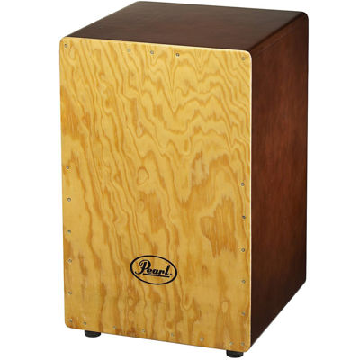 Pearl PBC507 Primero Box Gypsy Brown Cajon with Tunable Snares