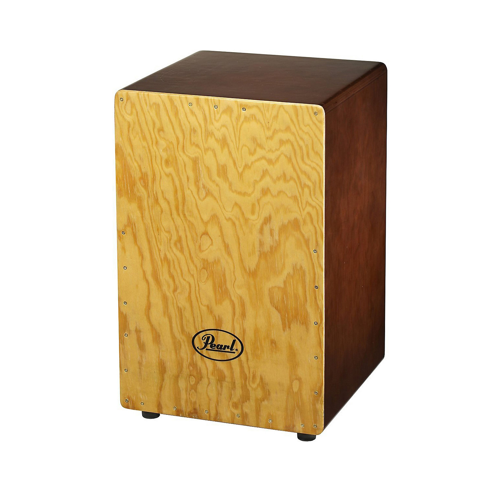 Pearl PBC507 Primero Box Gypsy Brown Cajon with Tunable Snares