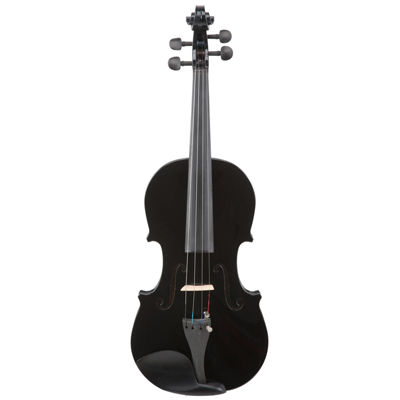 Le'Var 4/4 Student Violin Outfit - Midnight Black