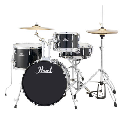 Pearl Roadshow RS584 4-pc. Drumset with Hardware & Cymbals