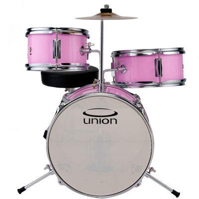 Union UT3 3-pc. Toy Drum Set with Cymbal and Throne
