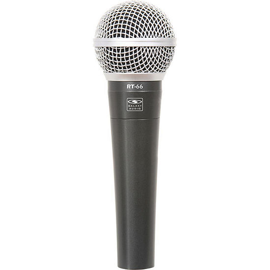 Galaxy RT-66X Wired Handheld Microphone + XLR M-F Cable