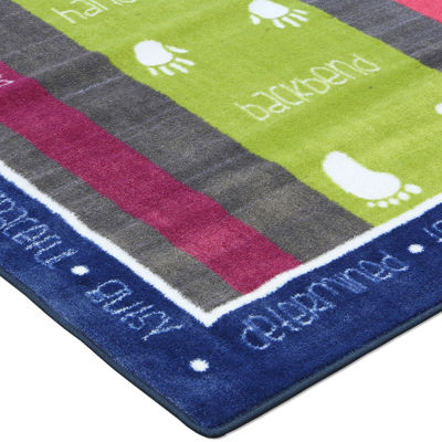 Mohawk Home® Gymnastics Rectangular Rug