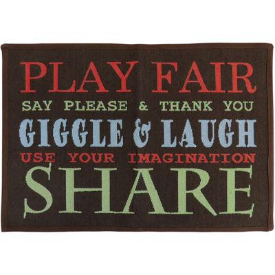 Play Fair Rectangular Rug