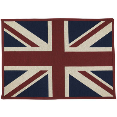 Union Jack Rectangular Rug