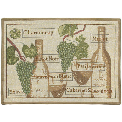 Fruit Vine Rectangular Rug