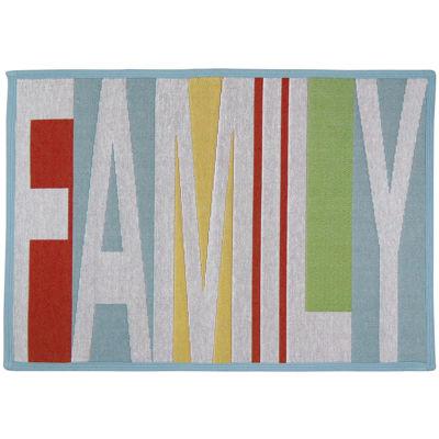 Family Rectangular Rug
