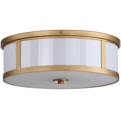 Beverley Flush-Mount Ceiling Drum Light