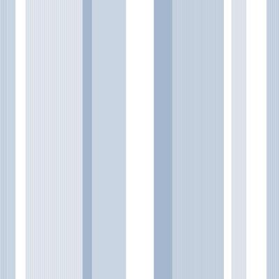 Awning Stripe Peel-and-Stick Wallpaper