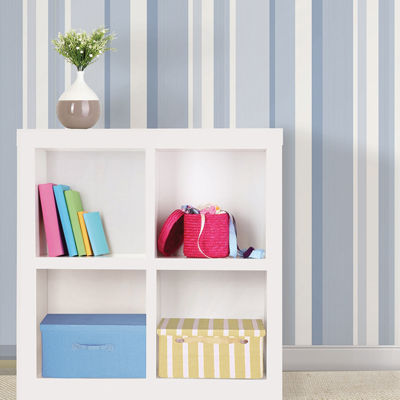 Awning Stripe Peel-and-Stick Wallpaper