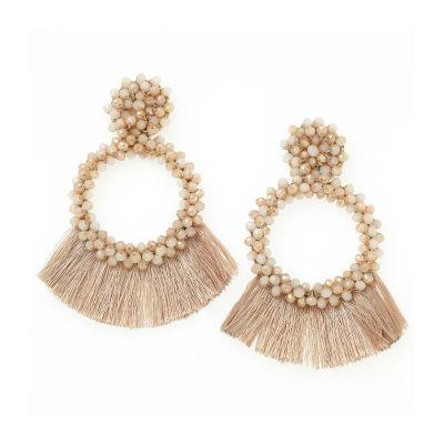 Bijoux Bar Champagne Drop Earrings