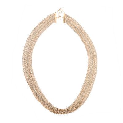 Bijoux Bar Solid Link Chain Necklace