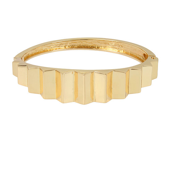 Worthington Gold Tone 7 Inch Bangle Bracelet