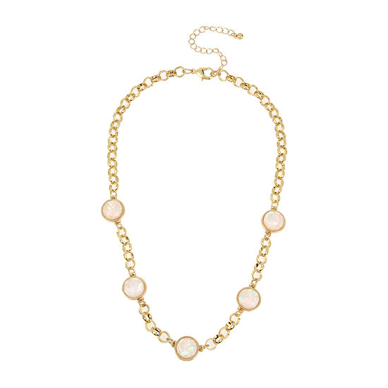 Worthington 18 Inch Link Collar Necklace