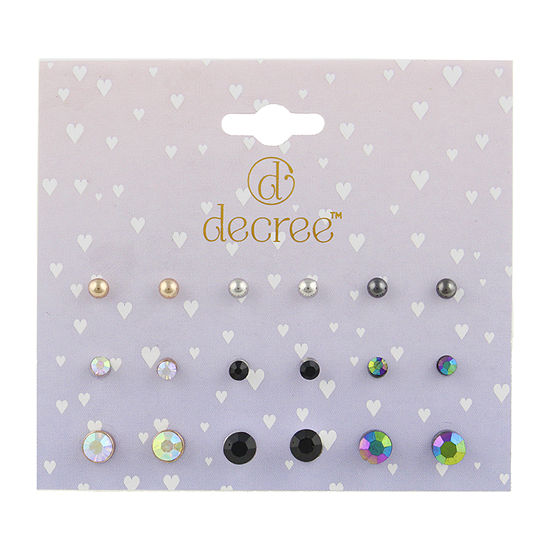 Decree 9 Pair Earring Set