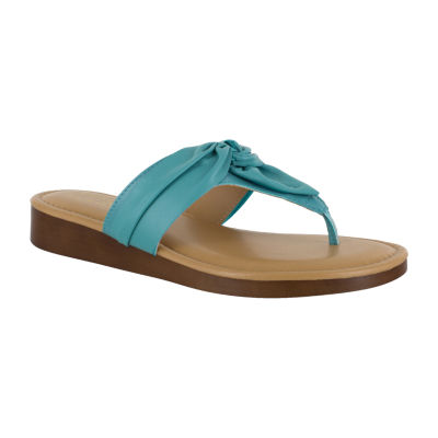 Easy Street Womens Maren Flat Sandals