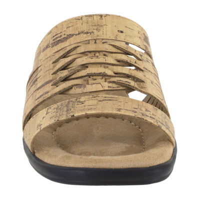 Easy Street Womens April Flat Sandals