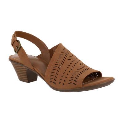 Easy Street Womens Goldie Heeled Sandals