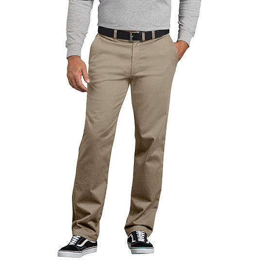 Dickies® X-Series Active Waist Slim Tapered Fit Washed Chino Pants